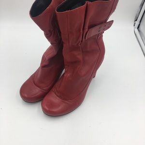 Tsubo Leather Boots Sz 9